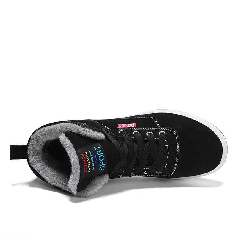 ZUNYU الرجال الأحذية الرجال الشتاء الأحذية زائد حجم 39-48 الدافئة الكاحل بوتاس هومبر لفصل الشتاء الأحذية أحذية الرجال أفخم الشتاء رياضية رجل