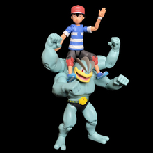 цена на TAKARA TOMY Figure Action Children Gifts Pokemon Pocket Monster SUN&MOON Ash Ketchum SHF Figure Scenes Toy Christmas Gift