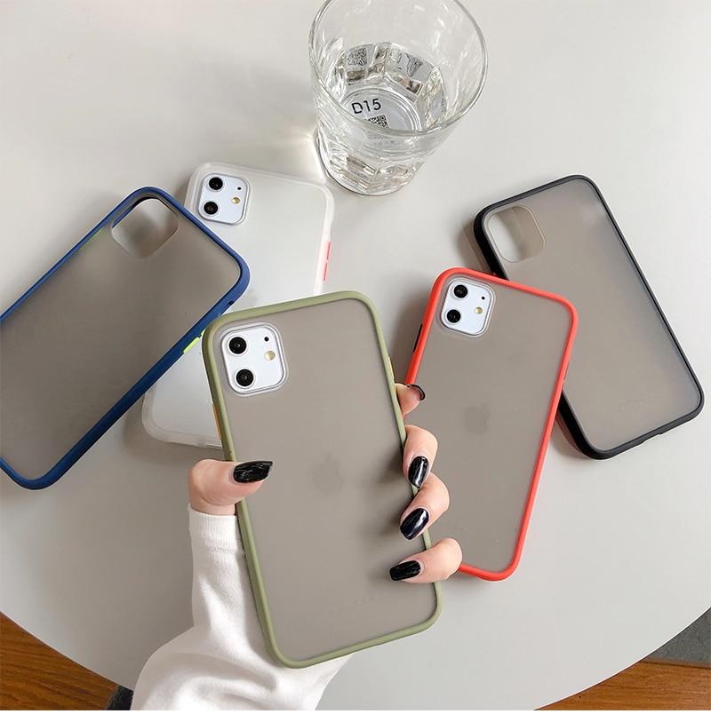 Mint Hybrid Case for iPhone SE (2020) 49