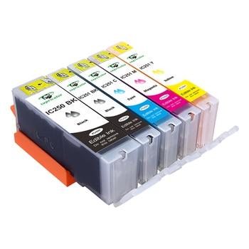 Supricolor de Canon pgi 250xl cli 251xl comestible cartuchos de tinta PGI-250 CLI-251 usar con iP7220... MG5420... MG5422... MX922