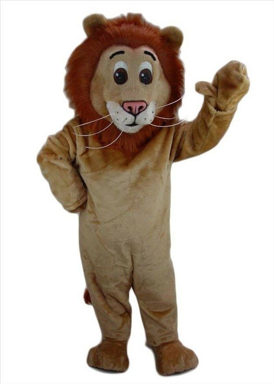 TOP vente Lion mascotte Costume Animal dessin animé déguisement adulte Cosplay accessoire costumes événement unisexe dessin animé vêtements Cosplay Halloween