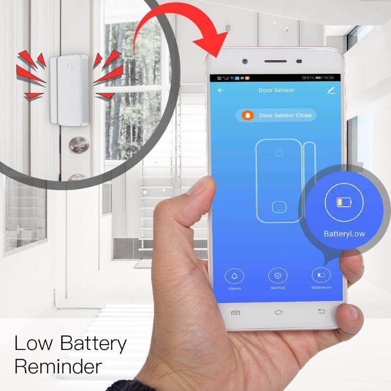 Wireless Window Door Security Smart Gap Sensor Detector Smart Home Security For Our Home Security WIFI Alarm Dropshipping