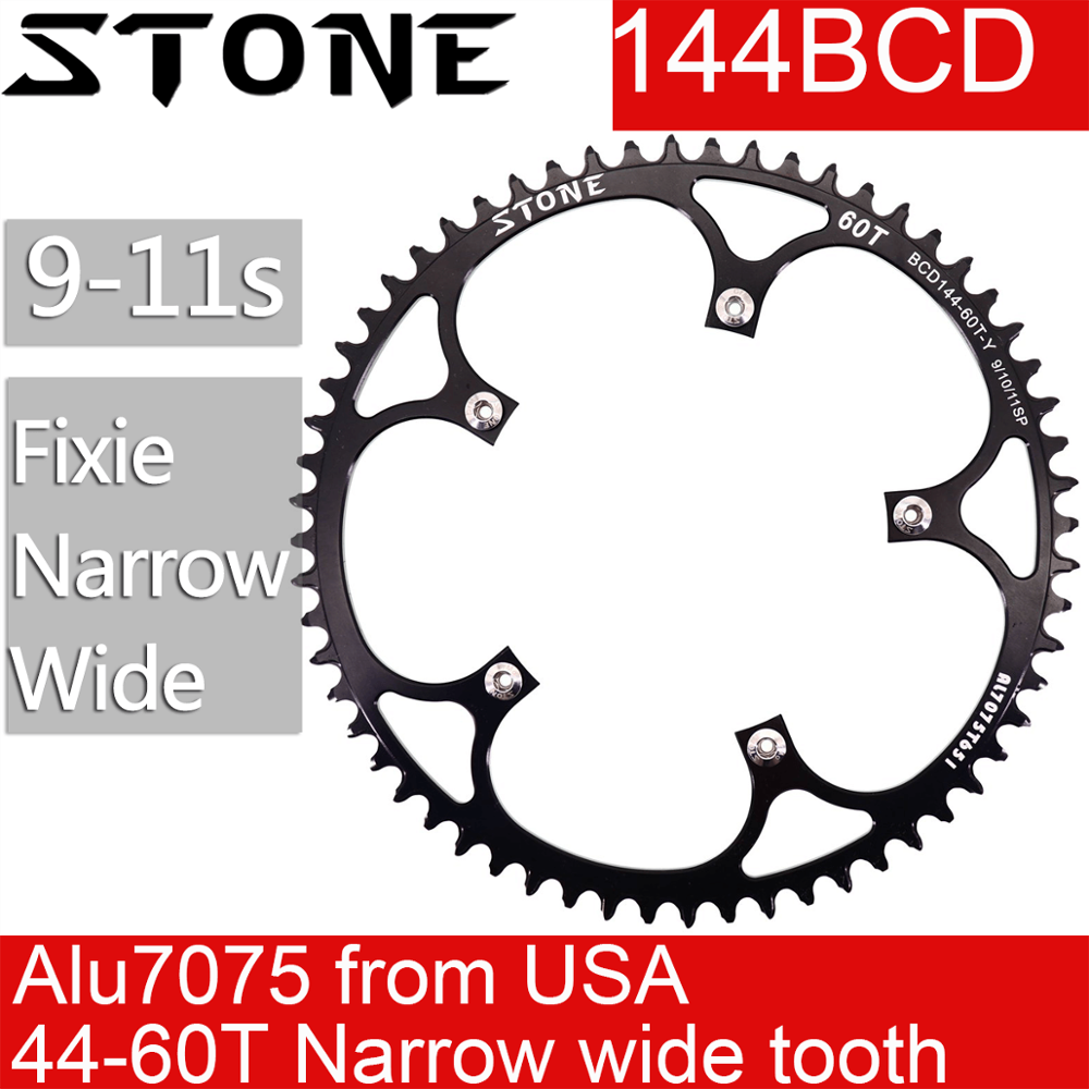 144mm BCD  ALLOY CHAINRING 49 54 Tooth 52