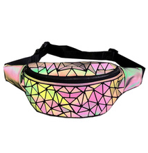 Waist Bag 2019 Hot Sell Luminous Fashion pack Change Color Bags in the evening