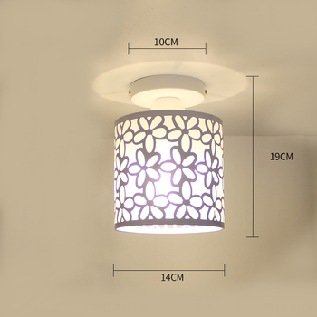 Ceiling lights Minimalist Retro Ceiling Lamp Glass E27 industrial decor  lamps for living room Home Lighting Lustre Luminaria 17