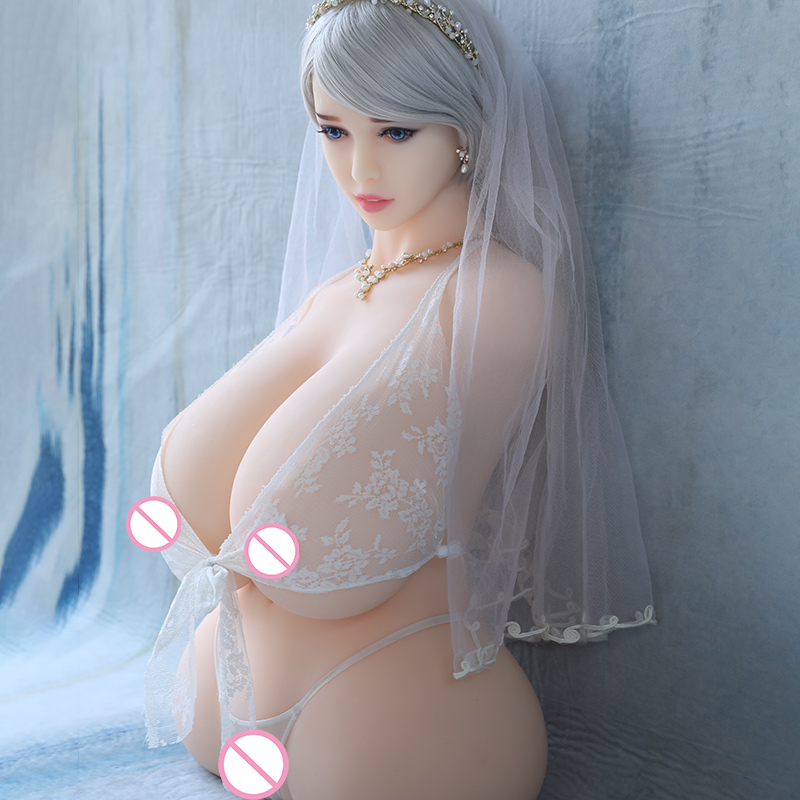 Image 5 - Hanidoll Silicone Sex Dolls 86cm Half Body Love Doll TPE Male Sex Doll Torso Realistic Vagina Big Boobs Fat Ass Chubby Sexy Doll-in Sex Dolls from Beauty & Health