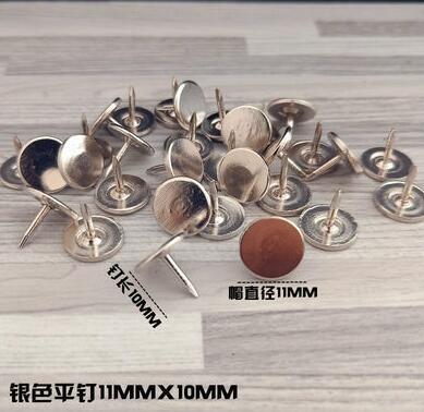 100 шт металлические кнопки, декоративные Thumbtacks, античный штырь, гвоздь, круглая форма, нажимные штыри для большого пальца, настенные Пробковые доски для офиса - Цвет: A