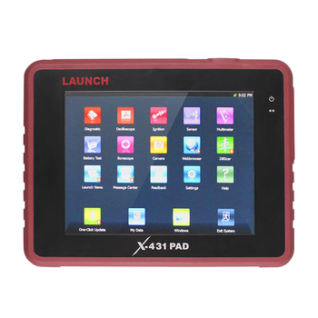 Original LAUNCH Top Professional Auto Diagnostic Tool LAUNCH X431 PAD Support 3G WiFi Update Online X-431 PAD Diagnostic-Tool