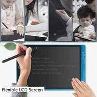 Tableau d'écriture Durable de couverture d'abs de tablettes de dessin d'affichage à cristaux liquides de 12 pouces pour des enfants