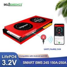 Smart bms 24s 150a 200a 250a 72v lifepo4 32 v Номинальный аккумулятор