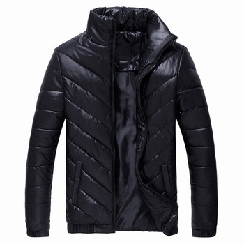Down Jacket Men Winter Thick Warm Pure Jackets Coats Brand Clothing Stand Collar s Mens Cotton Padded Coat Windproof winter puimentiua men s winter parker cotton clothing warm fashion cotton clothing jacket large fur collar hooded men s wild 2019