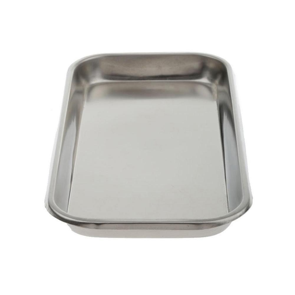 1PC Stainless Steel Dental Lab Surgical Tray Equipment Tray Medical Alcohol Teeth Dental Holder Plate Dish Dentistry Instrument