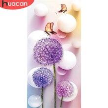 Алмазная вышивка HUACAN живопись Сделай сам Одуванчик Бабочка Алмазная вышивка животное мозаика Продажа Декор для дома