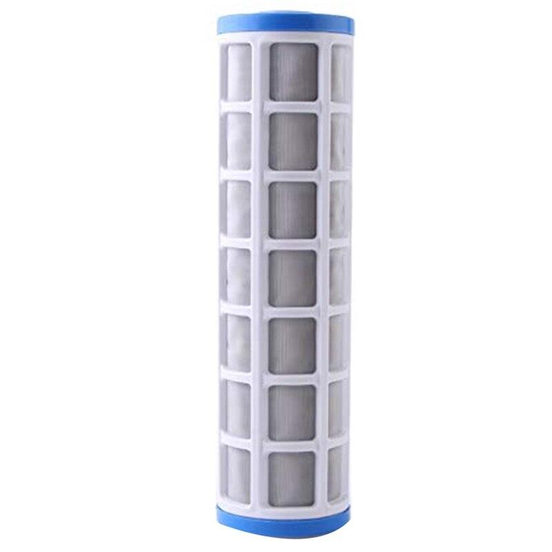 Filtro de malla de alambre de acero inoxidable de 10 pulgadas cartucho purificador de agua Pre filtro para la prevención de escala Correa de acero inoxidable de Metal para Xiaomi Huami Amazfit GTR 47mm 42mm correa de pulsera para Amazfit Bip/ pace/Stratos correa de reloj