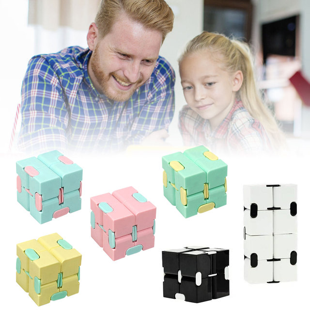 New Magic Cube Puzzle Cube Durable Exquisite Decompression Anti-stress Professional Educational Toys For Children Adults 5