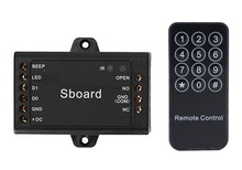 Sboard Mini Single Door Controller Single door Access Controller Connect with Any keypad Reader Wiegand 26~37 Bits Output