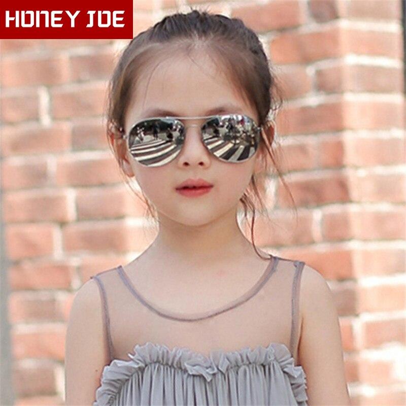 Boys Girls Retro Fashion Aviation Sunglasses Kids Goggles Students Pilot Sun Glasses Party Eyewear Outdoor Eye Glasses UV400