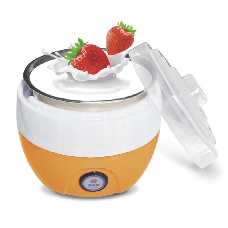 Image 2 - Electric Yogurt Maker DIY Automatic Machine Kitchenware Tools Stainless Steel Yogurt Maker Ice Cream Machine Drop Shipping220V-in Yogurt Makers from Home Appliances