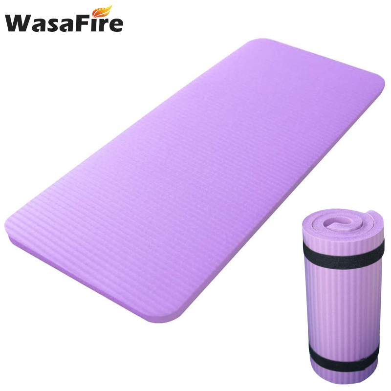60*25*1.5CM Yoga Mat Abdominal Wheel Pad Flat Support Elbow Pad Yoga Auxiliary Pad Home Gym Workout Mats