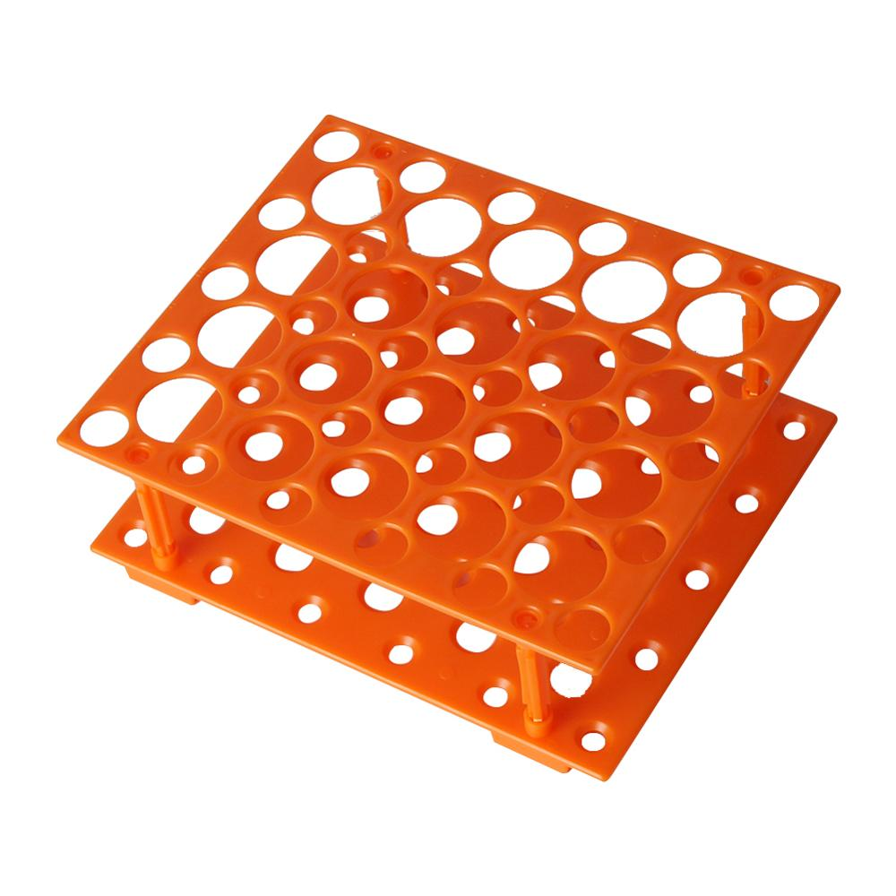 50 Sockets Centrifuge Test Tube Rack Two Layers Test Tubes Holder Stand For 10/15/50ml Centrifugal Tube Laboratory Supplies