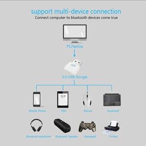 Image 2 - Usb Bluetooth Dongle Adapter 5.0 Voor Pc Computer Speaker Draadloze Muis Hoofdtelefoon Bluetooth Music Receiver Audio Zender