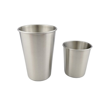 304 Stainless Steel Outdoor Camping Tableware Travel Cups Picnic Supplies Stainless Steel Wine Beer Cup Whiskey Mugs NR0143