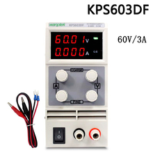 4 Pcs KPS603DF Adjustable High precision double LED display switch DC Power Supply protection function 60V3A