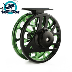 Fly Fishing Reel ze stopu aluminium wymienne 2 + 1BB 3/4 5/6 7/8 CNC maszyna Cut dla morskich i słodkowodnych akcesoria wędkarskie