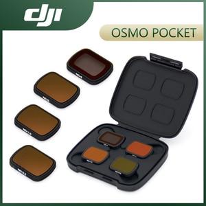 Image 1 - DJI Osmo جيب ND مرشحات مجموعة ل DJI جيب 2 ND 4 8 16 32 مع ضوء عالية الجودة الحد المواد DJI الملحقات الأصلية
