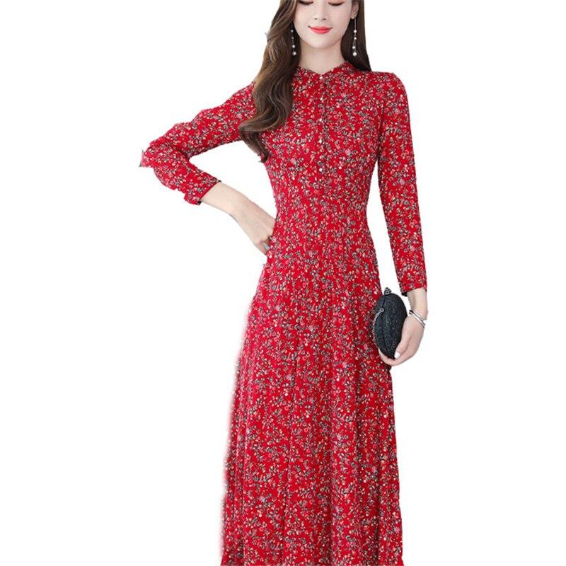Dress Autumn dress Korean new arrival vestidos wholesale OLN Women long-sleeved temperament элегантны