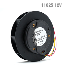 цена на 110*25mm 11025 DC 12V air purifier Centrifugal fan,Brushless DC motor,Car air purifier fan,air blower, turbo fan