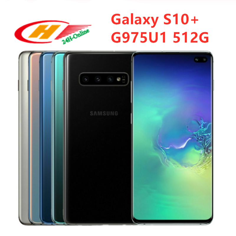 Samsung Original Galaxy S10 CDMA/GSM/LTE NFC Quick Charge 2.0 Wireless Charging Game turbogpu turbo/Qwerty keyboard/Screen slider