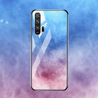silicone case Tempered Glass Case For Huawei honor 20 9 10 lite Cases Space Silicone Covers for Huawei honor 20 pro 10 9 V20 back cover (5)