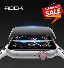 2 pièces pour Apple Watch protecteur décran pour iWatch 4 3 2 ROCK Hydrogel Film protecteur complet pour Apple Watch de 38mm 40mm 42mm 44mm