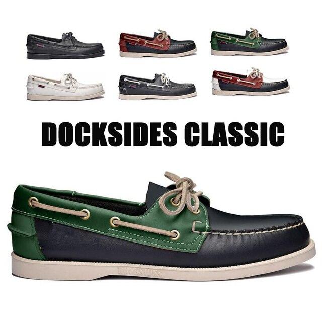 남자 진짜 가죽 운전 신발, 새로운 패션 Docksides 클래식 보트 신발, 브랜드 디자인 아파트 남성 여성을위한 로퍼 2019A006