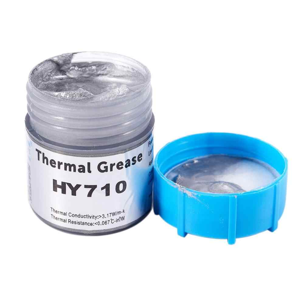 20g Argento Thermal Grease Pasta Compound Chipset di Raffreddamento Per CPU GPU HY710