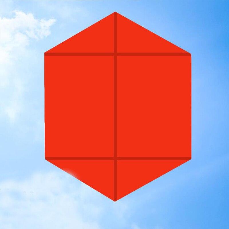 Livraison gratuite 10 pièces/lot hexagone cerf-volant en gros cerf-volant bobine pour adultes cerf-volant en nylon ligne weifang cerf-volant usine jouets de plein air - 3