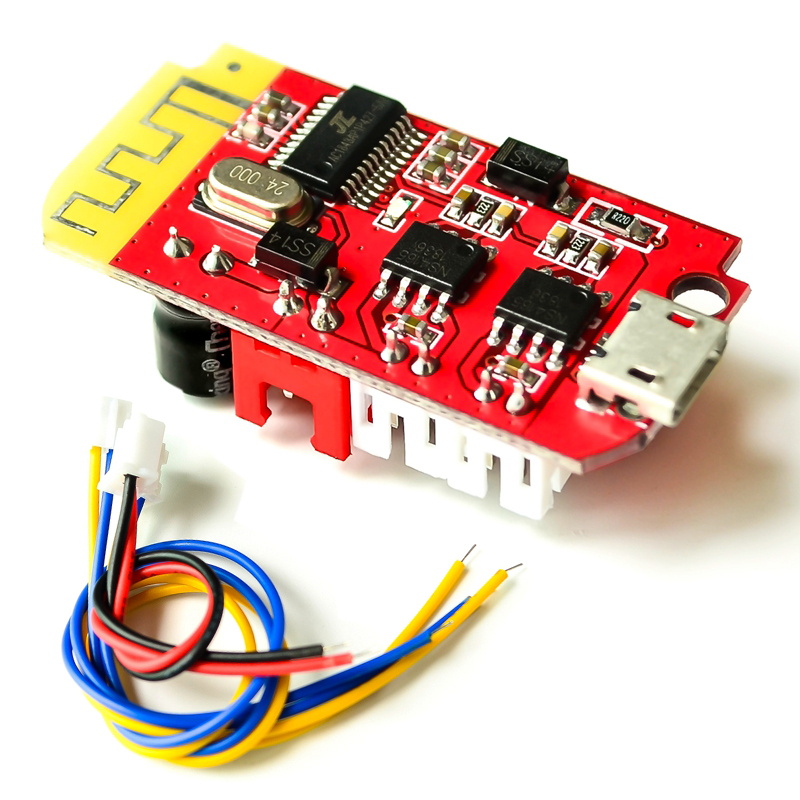 Bluetooth 4.2 Stereo Power Amplifier Board CT14 Micro Audio Module F Class 5W+5W With Charging DIY Modified Speaker