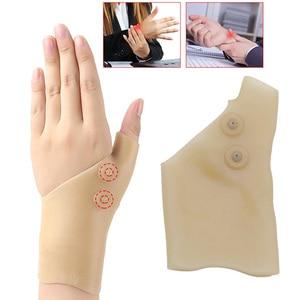 Tcare, 1 шт., магнитная терапия, наручные перчатки для поддержки большого пальца руки, силиконовый гель, корректор давления на артрит, массажные...
