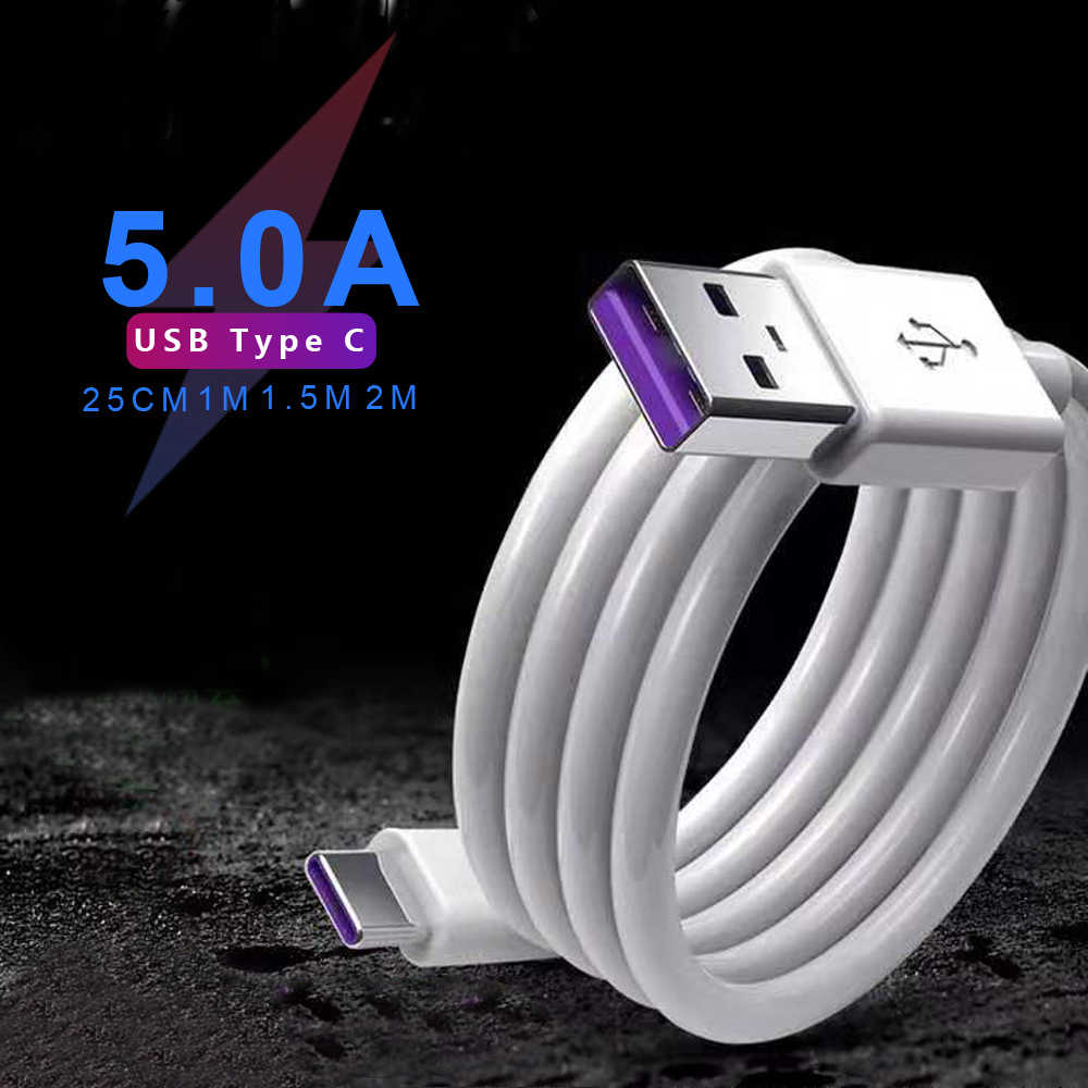 Musttrue 5a usb c cabo carregador rápido para huawei companheiro 30 20 pro p30 p20 usb tipo c cabo de dados fio trançado USB-C carregamento