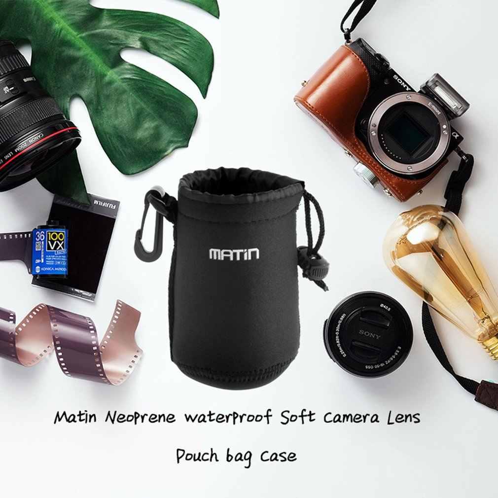 3mm gruby (z grubsza) pas neoprenowy na całym świecie Matin neoprenowy wodoodporny miękki pokrowiec na soczewkę aparatu torba na walizkę promocja