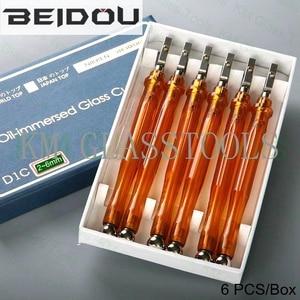 Бесплатная доставка 6 шт./Лот! Фрезер для резки стекла с пластиковой ручкой BEIDOU-NIKKEN DIC. Толщина резки 0,3-1,5/2-8/6-12/15-19 мм.