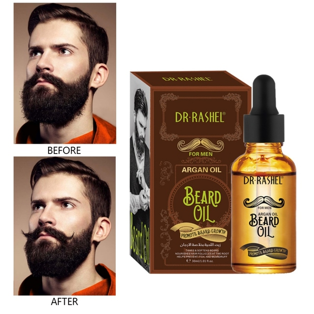 30ml Beard Wax Leave-In Conditioner Natural Groomed Growth Beard Oil Men Avoid Beard Hair Loss Products 2