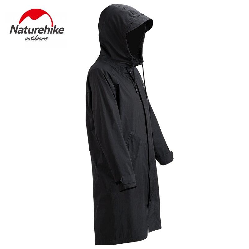 Naturehike Adult Raincoat Outdoor Ultralight Waterproof Poncho Breathable Long Style Rain Jackets Camping Hiking Cycling