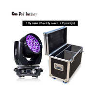 professional Disco dj light 19X15W DMX RGBW Stage Light Moving Head Beam with fly case arrive
