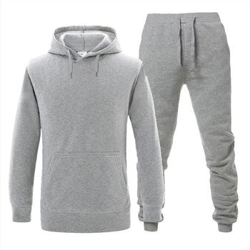 Mens Sets Hoodie And Pants Sweatsuit Male Sportswear Tracksuit Men Set 2019 Brand Sporting Suit Track Sweat Print Alpha Jackets
