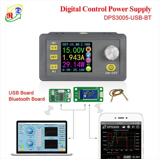 RD DPS3005 связь функция Постоянное Напряжение Ток понижающий питание модуль напряжение конвертер ЖК дисплей Вольтметр 30 в 5A
