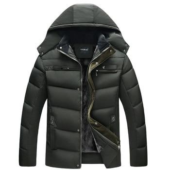 Abrigo de invierno con capucha 2