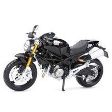 Maisto 1:12 ducati monster 696 vermelho morrer cast veículos colecionáveis hobbies motocicleta modelo brinquedos