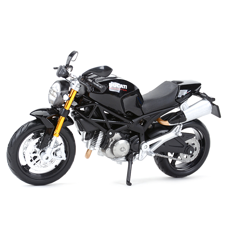 Maisto 1:12 Ducati Monster 696 Red Diecast Alloy Motorcycle Model Toy